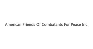 American Friends Of Combatants For Peace Inc